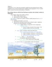 Chapter 5 Ecology Notes