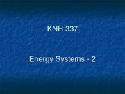 Energy Systems - 2-1