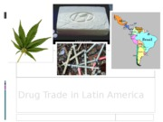Drug Trade in Latin America