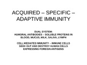 30. ACQUIRED IMMUNITY PART 1  2010