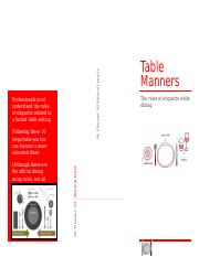 Table Manners.docx