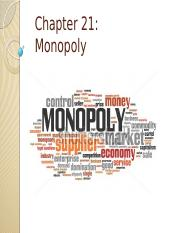 Chapter 21 - Monopoly.pptx
