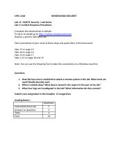 Lab 13- InicidentResponseProcedures(NetlabLab5).doc