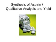 Synthesis of Aspirin_Qualitative analysis of aspirin_Summer (2)