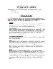 9_Improving Your Essay_1. Editing.doc