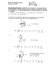 Test 1 Solutions(06)