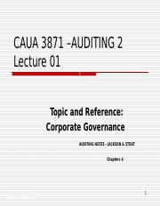 AUA3871_Lecture_slide_01__AN__Ch_4____Corporate_Governance
