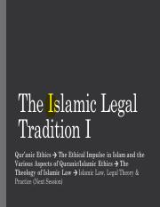 Session+10+_7_+The+Islamic+Legal+Tradition+I