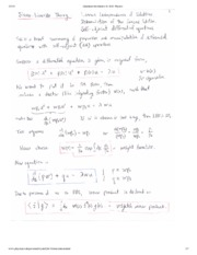 Sturm Louiville Theory Notes