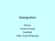 Lecture 9--Immigration--oldppt