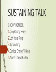 Sustaining Talk.pptx