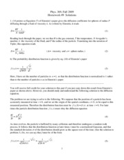phys 369 09 hw 9 solutions
