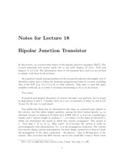 Lecture18-BJT