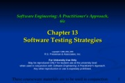 Ch13 Software Testing Strategies