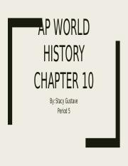 Ap world History Chapter 10.pptx