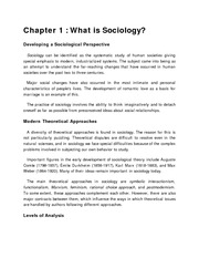(sociology) Introduction to Sociology