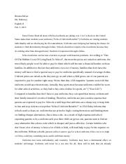 Meyer Research paper