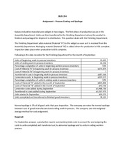 Assignment - Process Costing with Spoilage(3) (1)