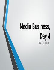 Media Business Day 4