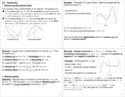 Lecture Notes on Concavity