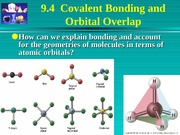 Chapter 9b Molecular Geometry and Bonding Theories