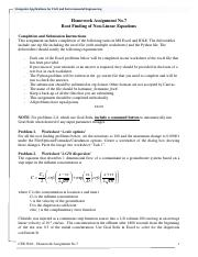 CE3804 - HW7 - Root Finding for Non-Linear Equations.pdf