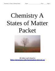 States of Matter Packet Shortened 2014.doc