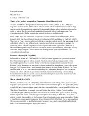 Case Law Bonner Case Wk 3.docx