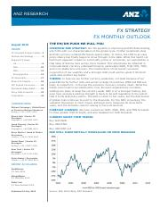 FX Monthly Outlook August 2015 (forecast and forward rates).pdf