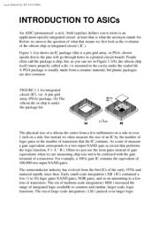 Application-Specific Integrated Circuits - Addison Wesley Michael John Sebastian Smith