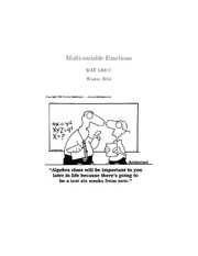 multivariable function