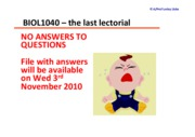 BIOL1040_FinalLectorial_NoAnswers_Sem2_2010