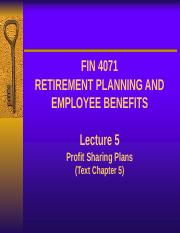 Lecture 5 - Profit Sharing Plans (1).pptx