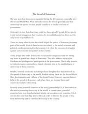history of democracy essay