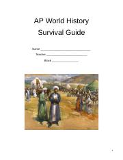 AP World History Survival Guide.docx
