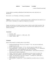 law of contract - lecture 1 - 26.09.13.docx