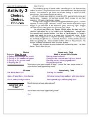 OPPORTUNITY COST SCARCITY CHOICES WORKSHEET.doc