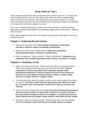 Study Guide 1 102 spring 2013