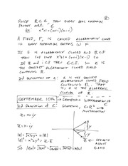 MTHE 326 Lecture 2 Notes
