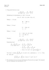 Math 122 Test 2B Solutions