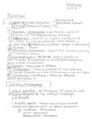 nonverbal comm 10_23 to 10_25 notes