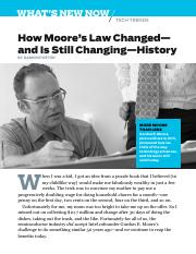 How Moore's Law Changed-- and Is Still Changing--History..pdf