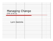 Change mgmt cfk 1011 kh