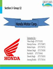Group12_section 3_Honda Motor Corp.pptx