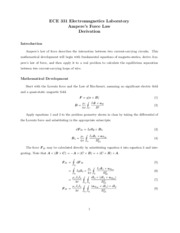 Lab-Amperes-Derivation