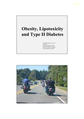 Obesity and diabetes human biochemistry Yang