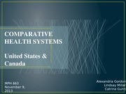 COMPARATIVE HEALTH SYSTEMS (1)