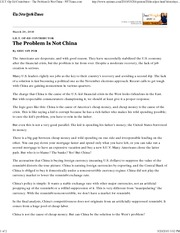 IHT_Op-Ed_Contributor_The_Problem_is_not_China