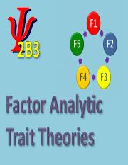 Factor Analytic Trait Theories slides (PDF)  (Mar. 20, 2015) (1).pdf
