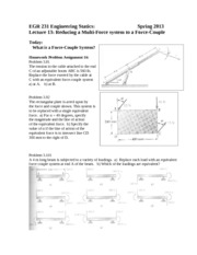EGR231_Lecture13ForceCoupleSystem